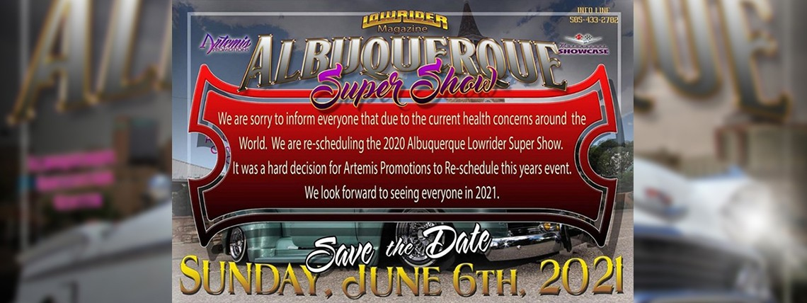 2021 Albuquerque Super Show - New Date