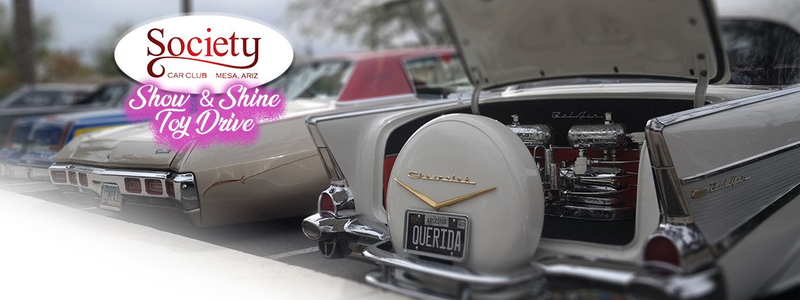 Society Car Club Show & Shine Toy Drive