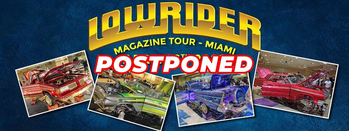 Postponed - Miami Lowrider Super Show 2020