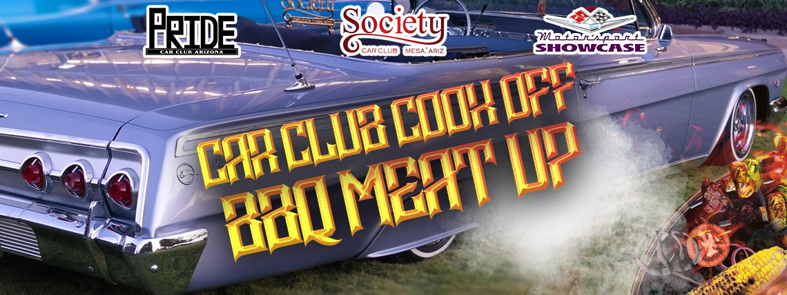 Car Club Cook Off BBQ Meat Up
