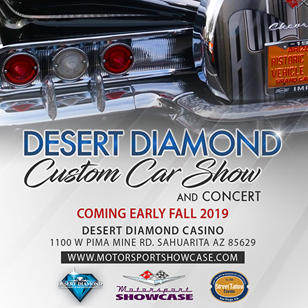 Fall 2019 Desert Diamond Sahuarita, AZ