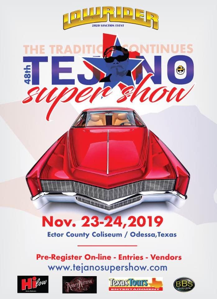 Tejano Super Show November 23 & 24, 2019