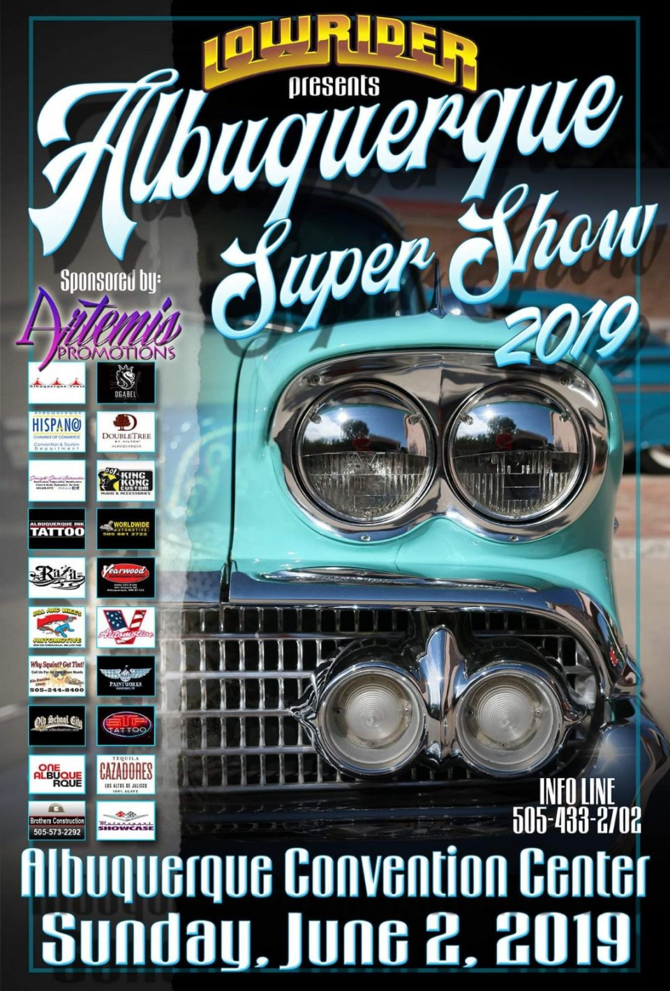 Up next...Albuquerque Super Show. Register now at https://motorsportshowcase.com/index.php/msblvd/events-calendar/viewevent/72-2019-albuquerque-super-show