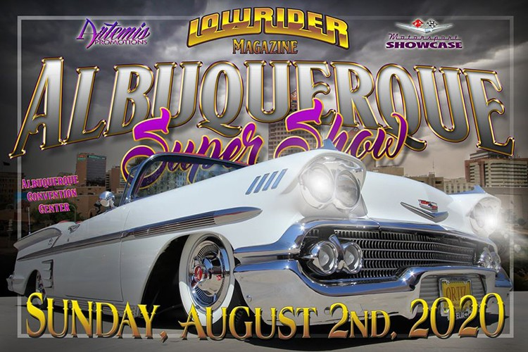 The 2020 Albuquerque Super Show has a new date! August 2, 2020