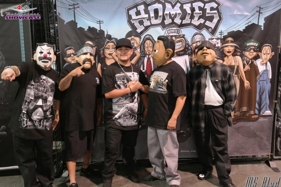 The Homies were spotted hanging out at the Las Vegas Lowrider Super Show. Check out the full photo gallery with over 200 photos at https://motorsportshowcase.com/index.php/gallery/2019-las-vegas-super-show-gallery