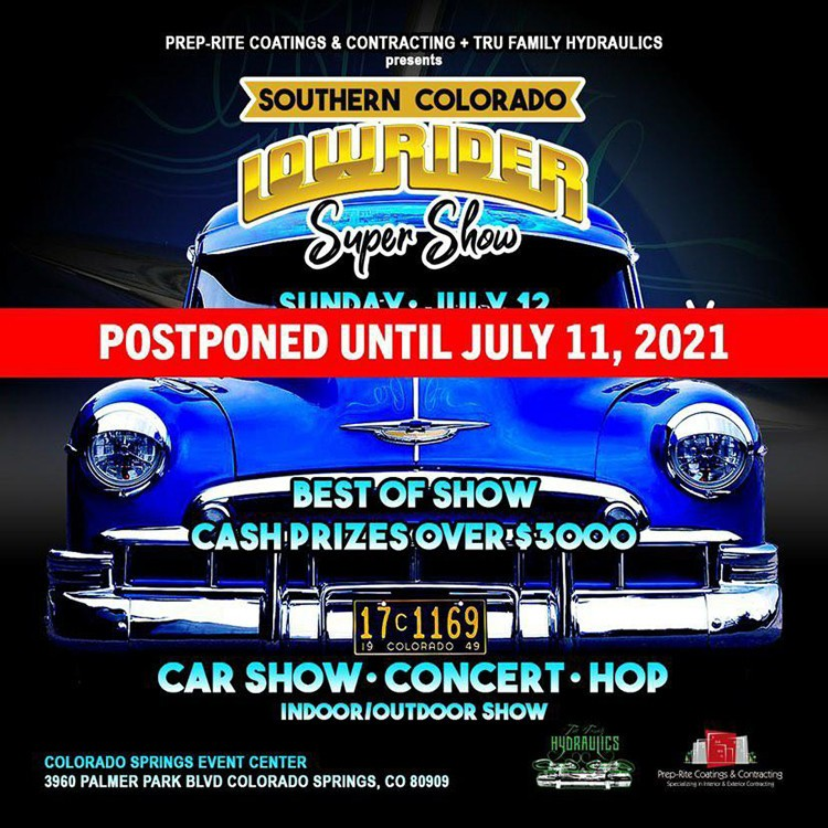 SoCo Lowrider Super Show - New Date July 11, 2021