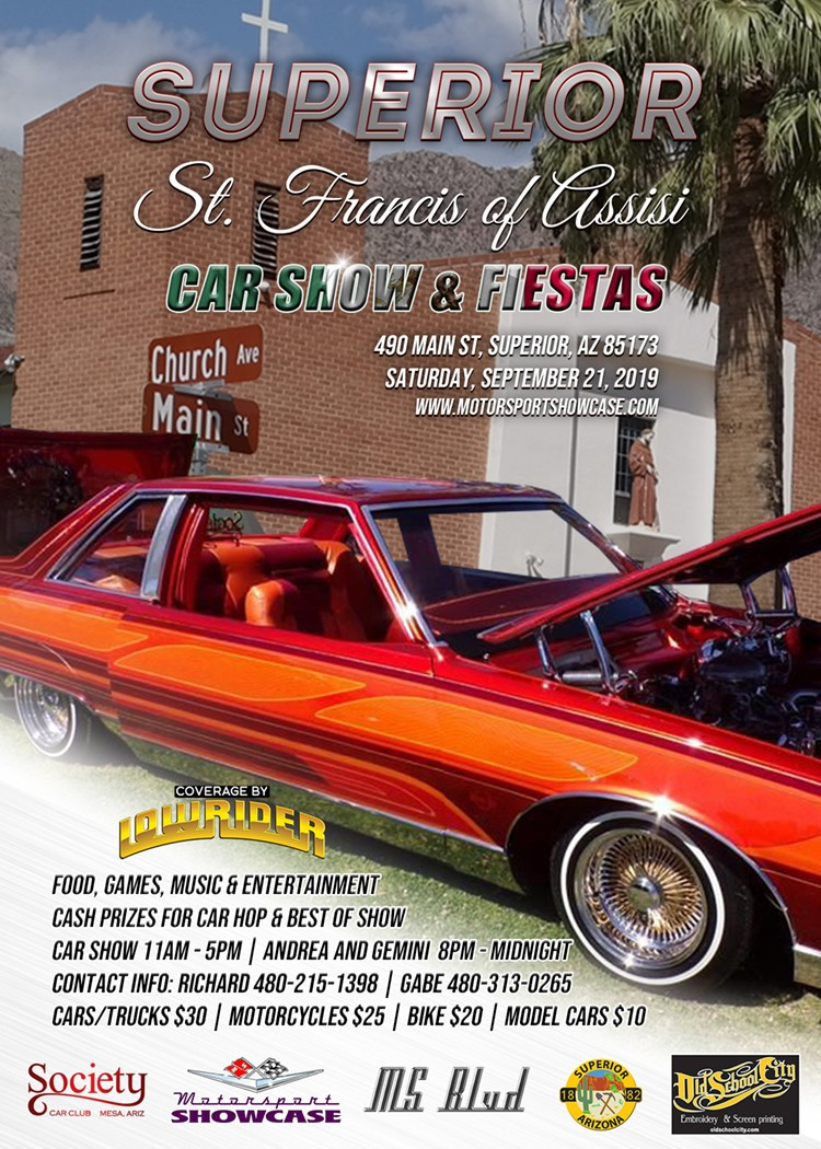We added a new sponsor...Old School City! Also this event will be covered by Lowrider Magazine!
