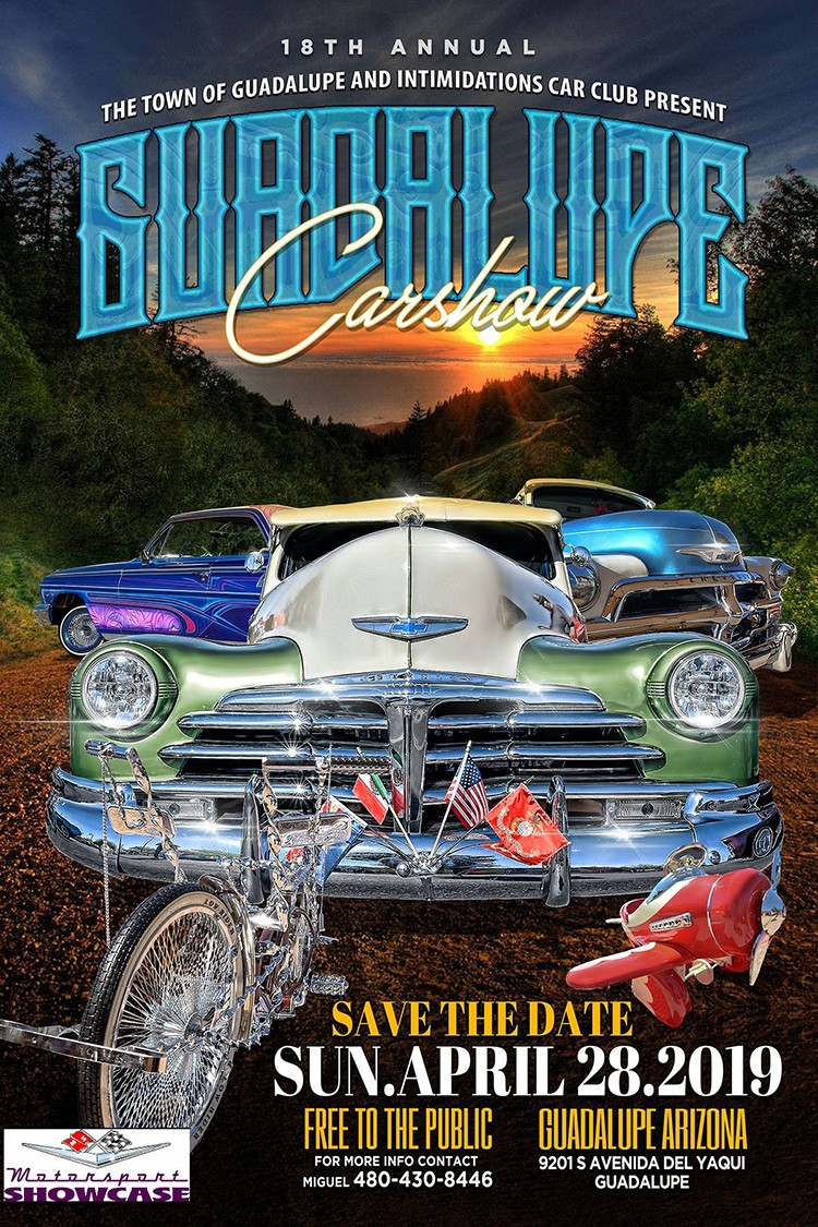 The 2019 Guadalupe Car Show is happening on Sunday, April 28! Check out the details at https://motorsportshowcase.com/index.php/msblvd/events-calendar/viewevent/69-2019-guadalupe-car-show